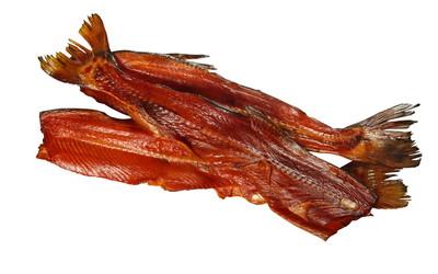 Хребты лосося холодного копчения